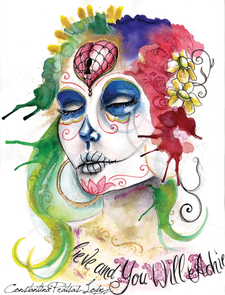 dia de los muertos - believe watermark