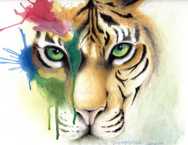 tiger mit kleckse rgb watermark